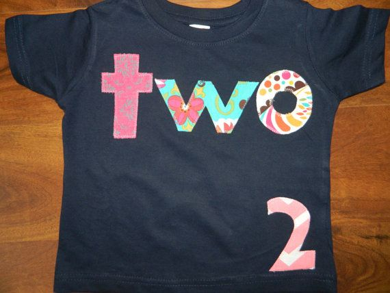 Fashion 72e7d 4f184 Birthday Shirt For 2 Year Old Girl On Etsy 3000