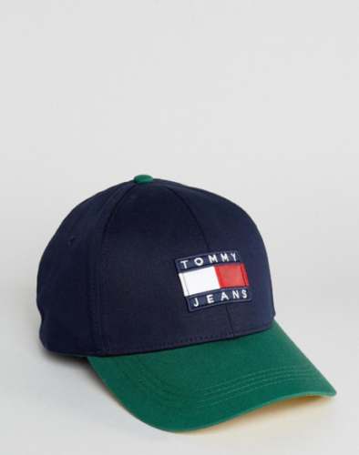 PRODUCT DETAILS Cap by Tommy Hilfiger Part of the Tommy Jeans 90s capsule  collection Iconic 90s
