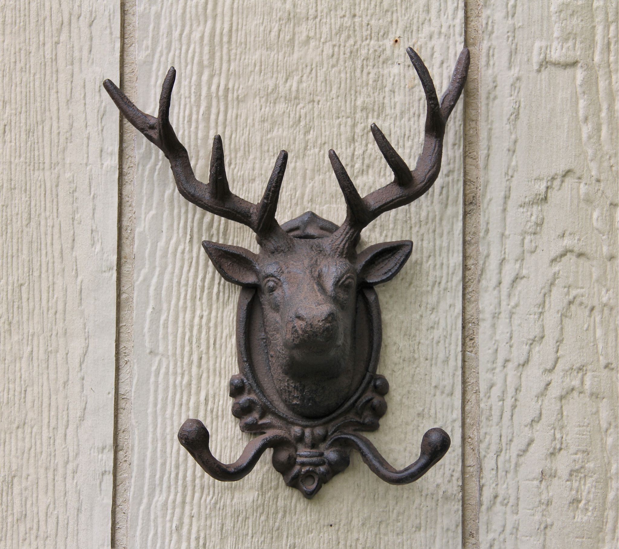 charming cabin coat rack. Large Cast Iron Rustic Elk Head Coat Rack Hooks  racks