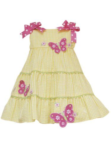 c2f5d0d7f Amazon.com: Rare Editions Baby-girls Infant Seersucker Dress: Clothing