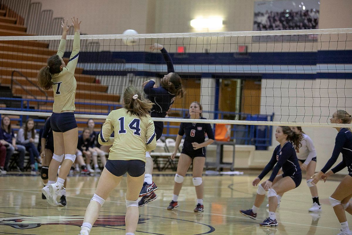 Pin By Talon Yearbook On 2019 Volleyball Basketball Court Volleyball Women