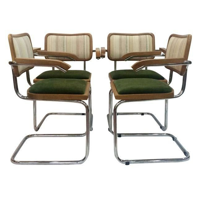 Image Of Marcel Breuer Cesca Chairs By Knoll   Set Of 4
