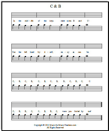 This is a GREAT site for basic beginning music. I use this ...