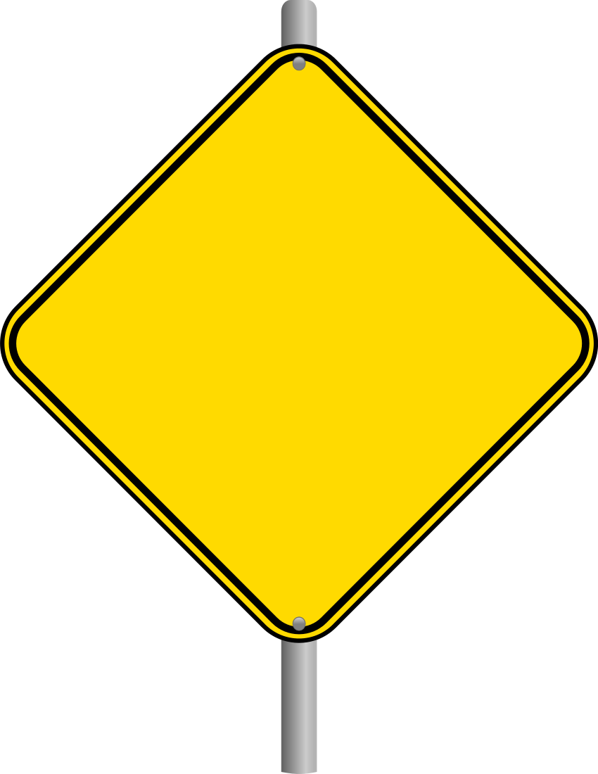 Blank Warning Sign Page Blanks Road Signs Blank Warning Sign Page Construction Signs Printable Road Signs Construction Party