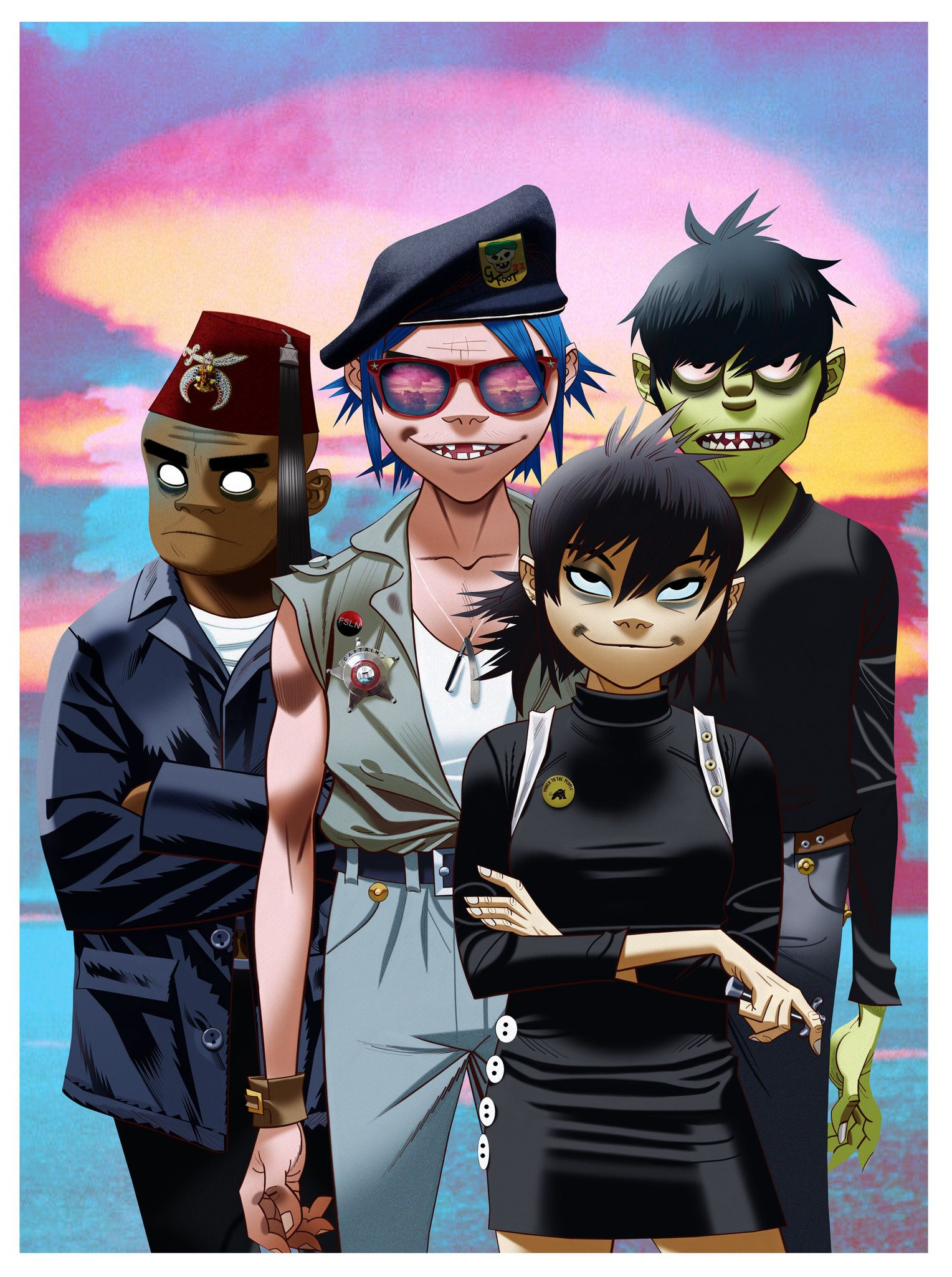 gorillaz wallpaper SpecificPleasemakethis1920x1080and