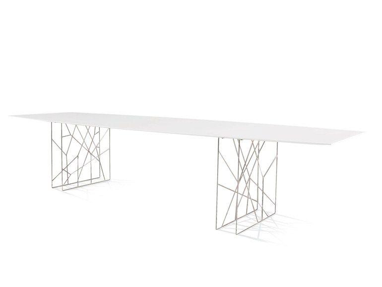 Tavolo Porro ~ Synapsis tavolo rettangolare by porro design jean marie