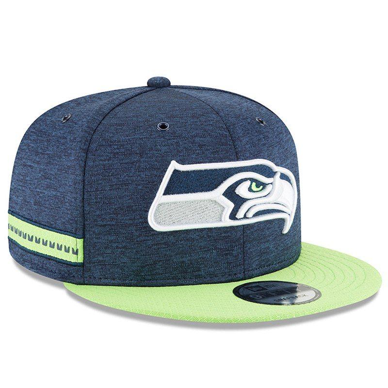 New Era NFL Seattle Seahawks 2018 Sideline 9Fifty Snapback