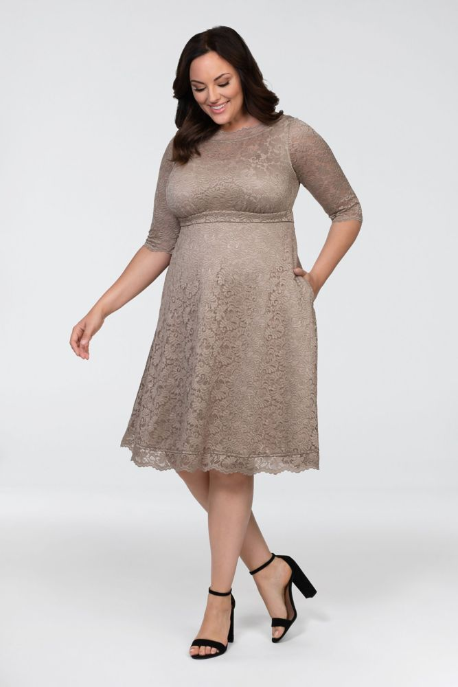 Lacey Cocktail Plus Size Dress Style 12170902,