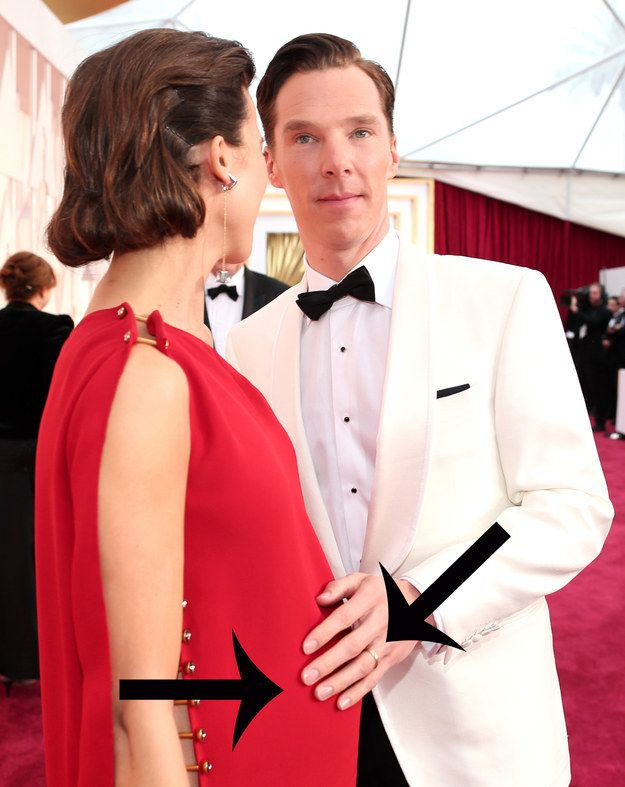 Benedict Cumberbatch Forgot He Was Married At The Oscars Benedict