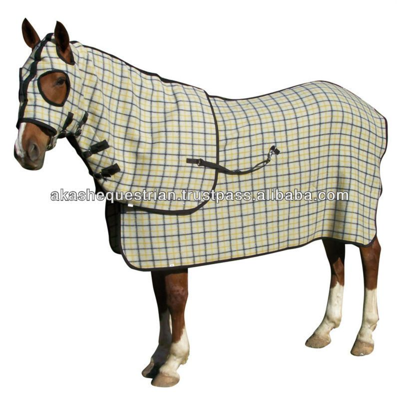 Woolen Horse Rug Sets Patterns Designer