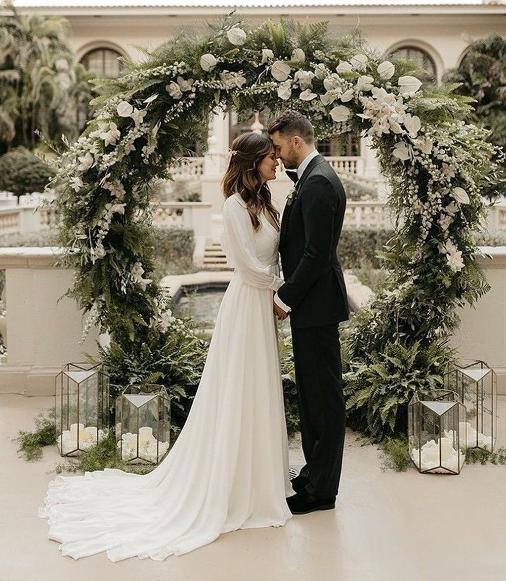 Wedding Ideas For Winter On A Budget: 45 Fashionable Winter Wedding Decoration Ideas On A Budget