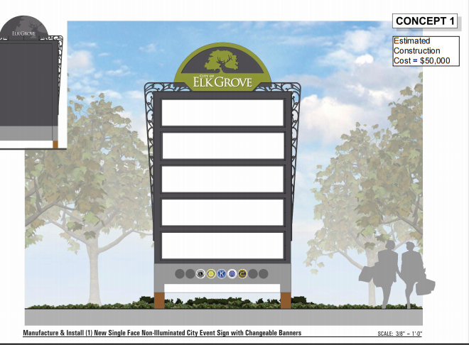 Adding To The City S Wayfinding Signs The Elk Grove City Council Is Now Considering Construction Of Two More Signs To Help Grove City Elk Grove City Council