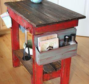 Kücheninsel selber bauen aus Paletten - 31 Modell-Anregungen ...