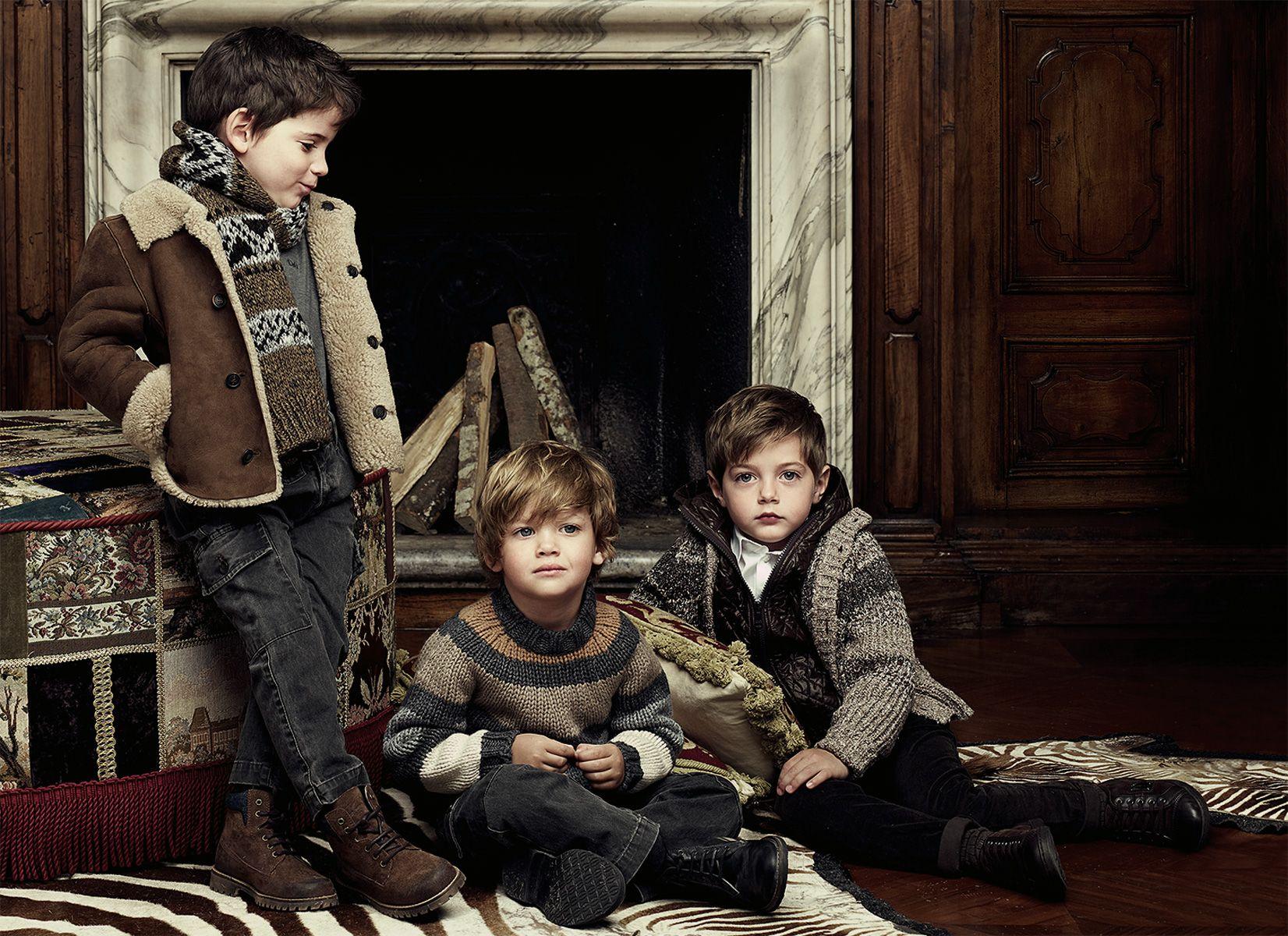 Dolce Bambini ~ Ru glamour dolce gabbana collection for kids fall winter