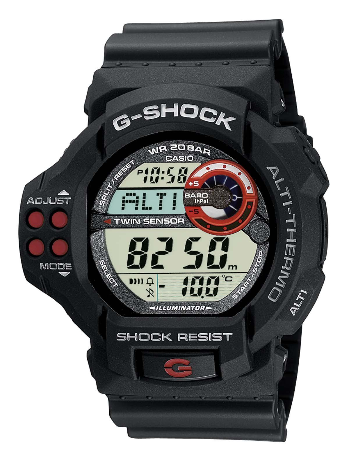 Casio Men's GShock Digital Watch Gdf1001Aer With Resin