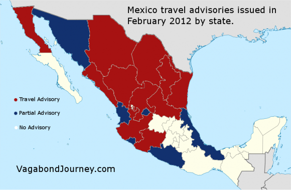 Mexico Travel Warnings By State How Dangerous Is It To Travel To Mexico T R A V E L B E A