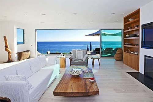 Beach Living Room Design Glamorous Livingroommalibubeachhousedesign  Beach  Pinterest  Malibu Design Inspiration