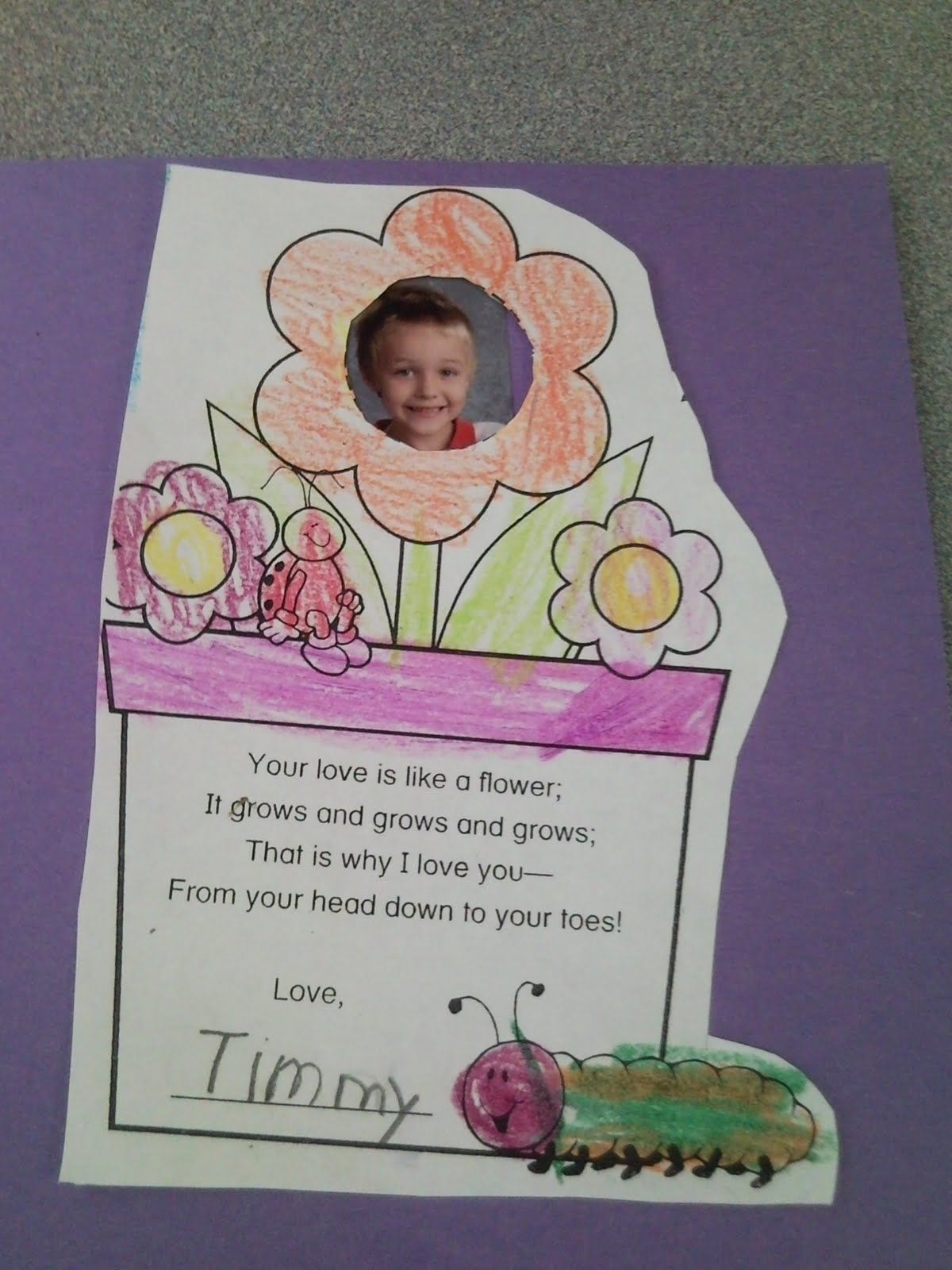First Grade Fabulous Fish Happy Mother S Day