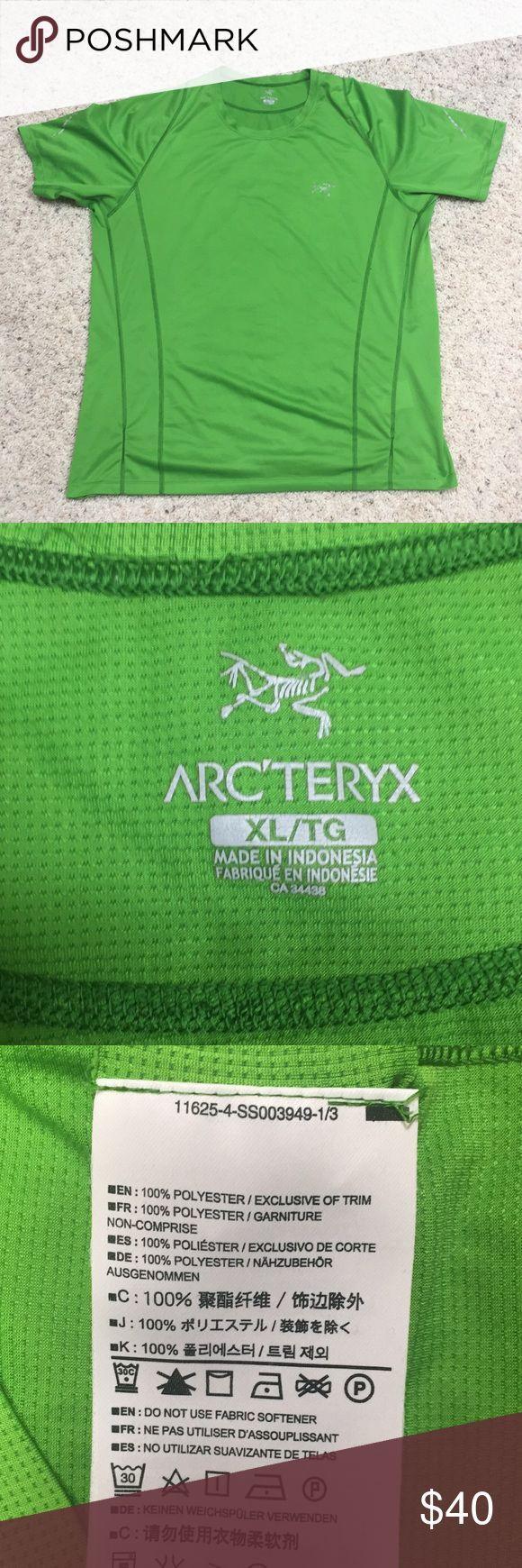 Www Made Com Fr men's xl arc'teryx hiking / workout t-shirt. gentl
