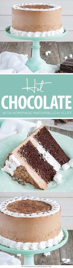 Hot Chocolate Cake | The Cake Blog