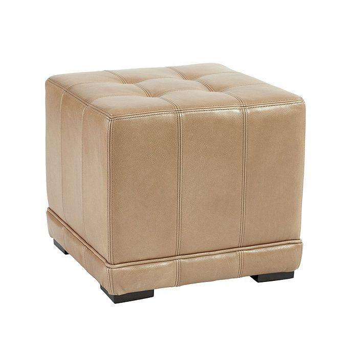 Astonishing Leather Cube Ottoman Pje Client Ottoman Ballard Designs Short Links Chair Design For Home Short Linksinfo