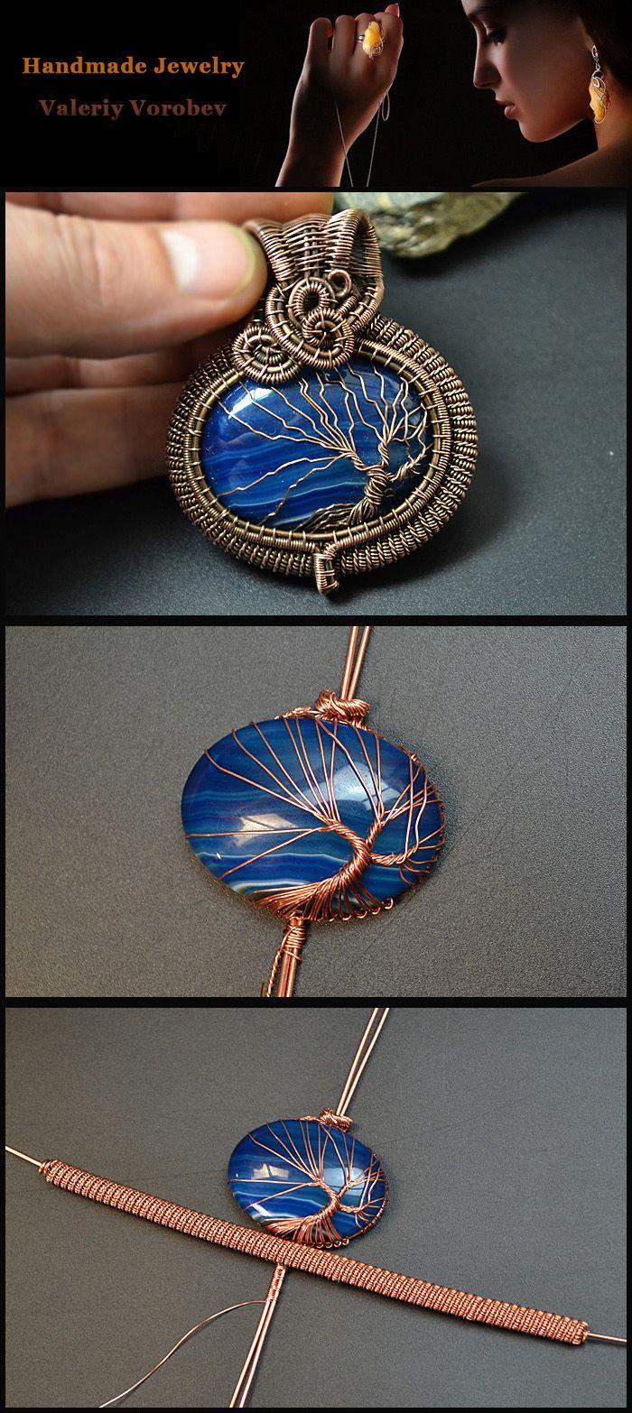 Photo of wire wrap tutorials, wire wrap, wire wrapped, wire jewelry, handmade