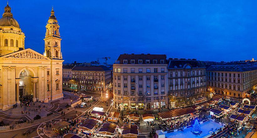 St Stephen Square - Budapest, Hungary