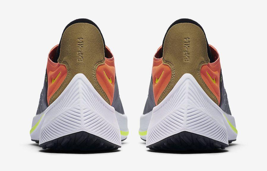 c748d515 Nike EXP-X14 Dark Grey Total Crimson AO1554-001 Release Date ...