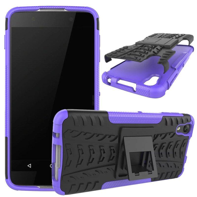 BrankBass For Alcatel Idol 4 Case TPU + PC Shockproof Kickstand