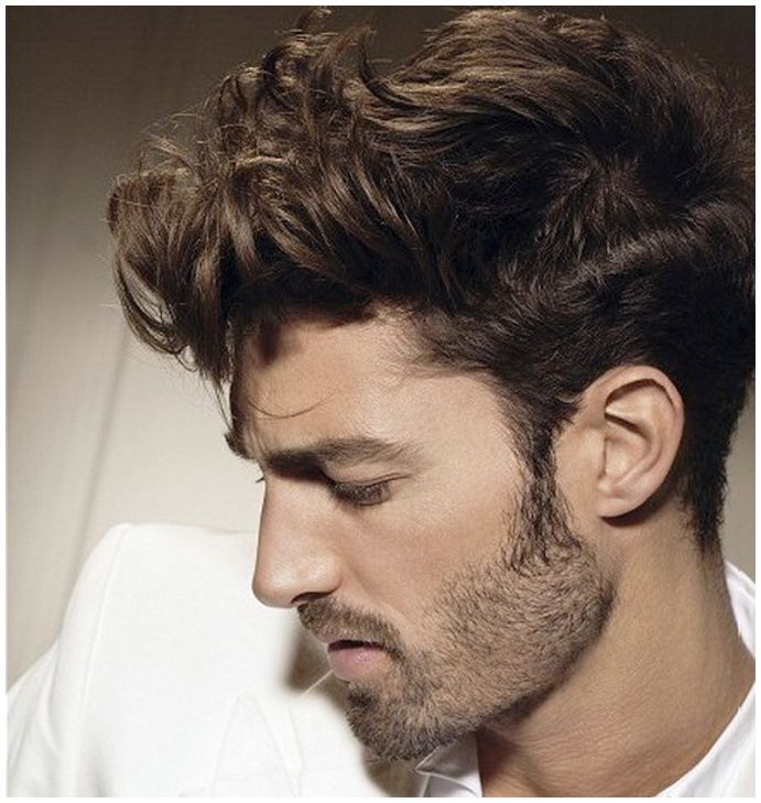 mens curly hairstyles side view | Biwti.com ~ Your fashion style ...