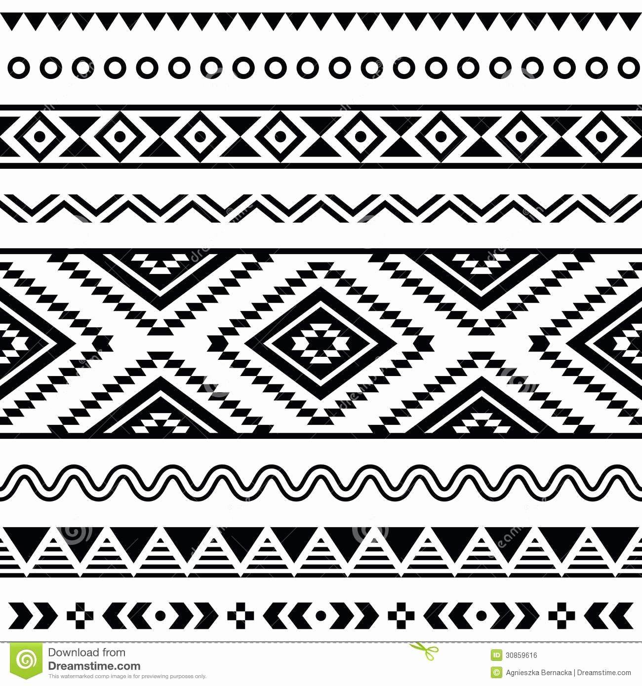 Approved Aztec Pattern Coloring Pages Challenge Indian Page Print Ohmygirl Us Sevimlimutfak Polynesische Tatoeages Patronen Tribal
