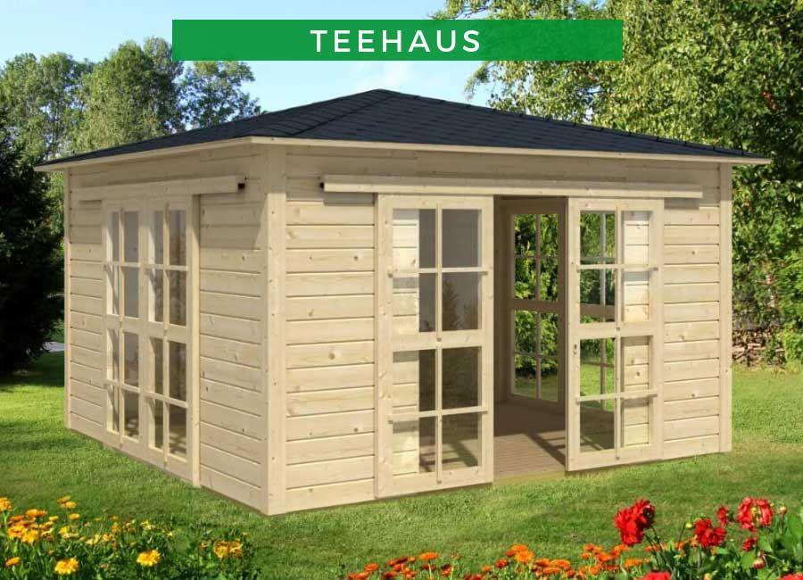 Teehaus 360 x 360 cm in 2020 Teehaus, Garten pavillon