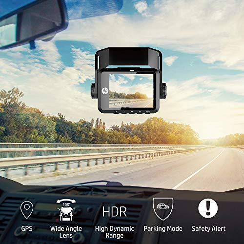 Hp Dual Dash Cam For Front And Rear Recorder With Night Vision Sale Oempartscar Com In 2021 Night Vision Dashcam Dash Camera