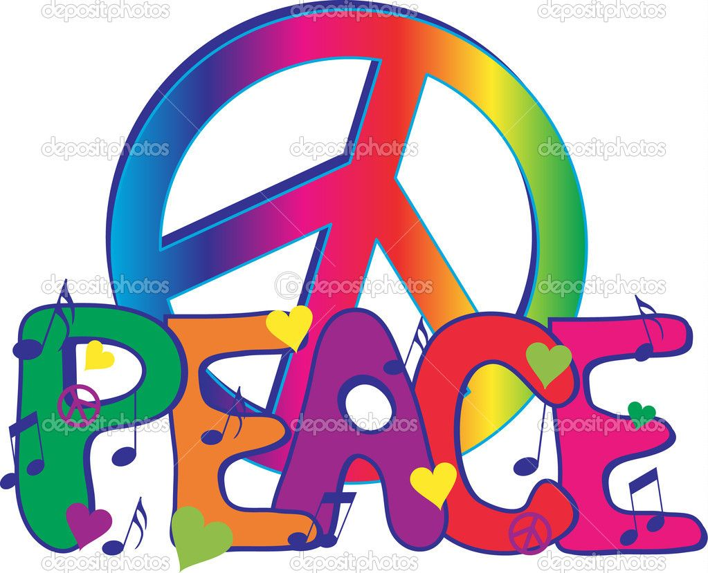 Peaceall we need is love pinteres illustration of peace text with peace sign vector art clipart and stock vectors biocorpaavc Images
