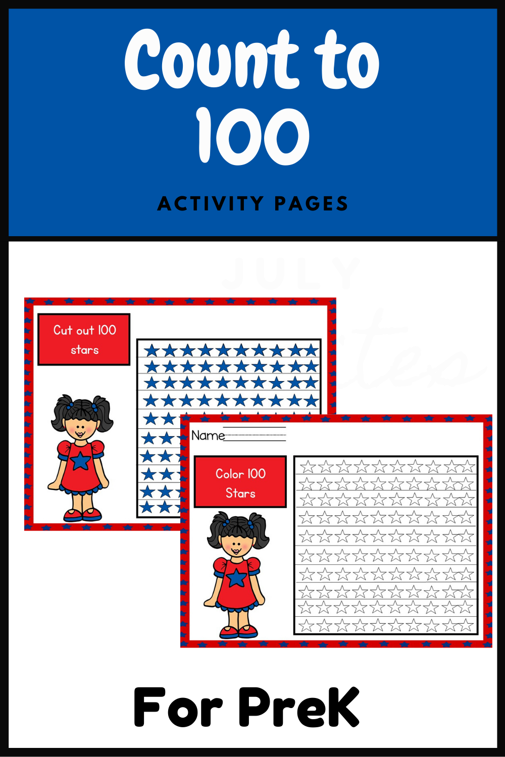 Help Students Count To 100 With These Fourth Of July Activity Sheets Fourthofjulyworksheets Fun Prek P Counting To 100 Fourth Of July Earth Day Activities [ 1500 x 1000 Pixel ]