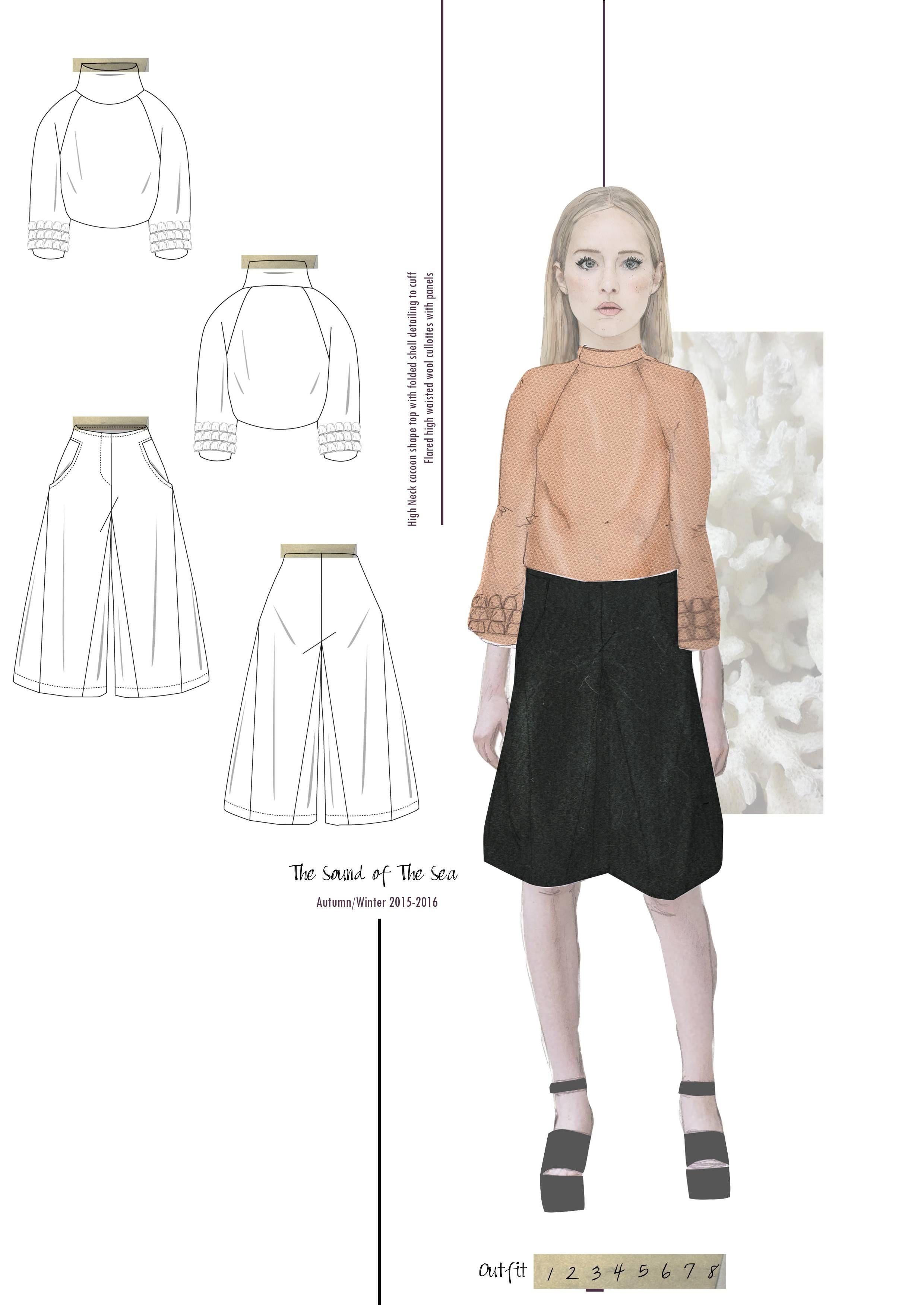 Fashion Sketchbook - fashion illustration; fashion design drawings; fashion portfolio // Emily Burnett