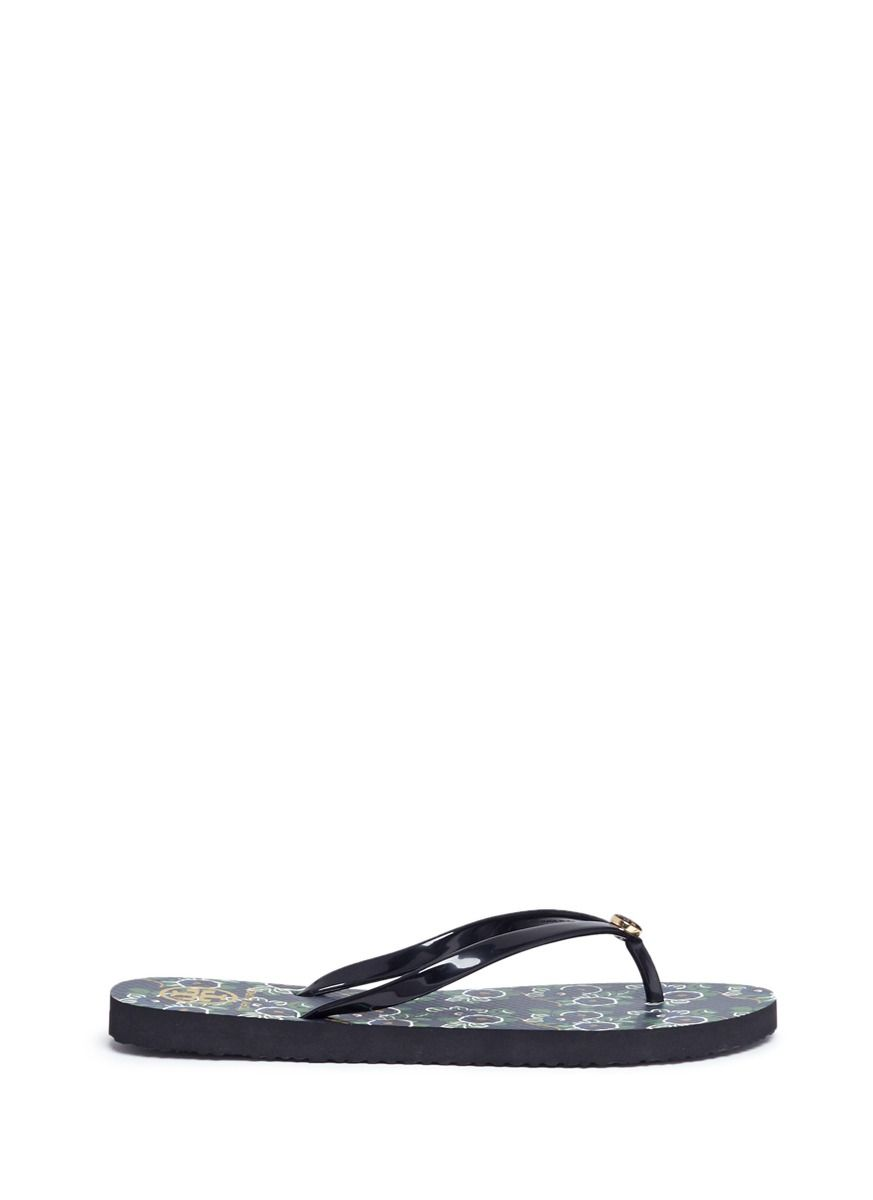 8e25a2473d26e TORY BURCH  Thin  floral print flip flops.  toryburch  shoes  sandals
