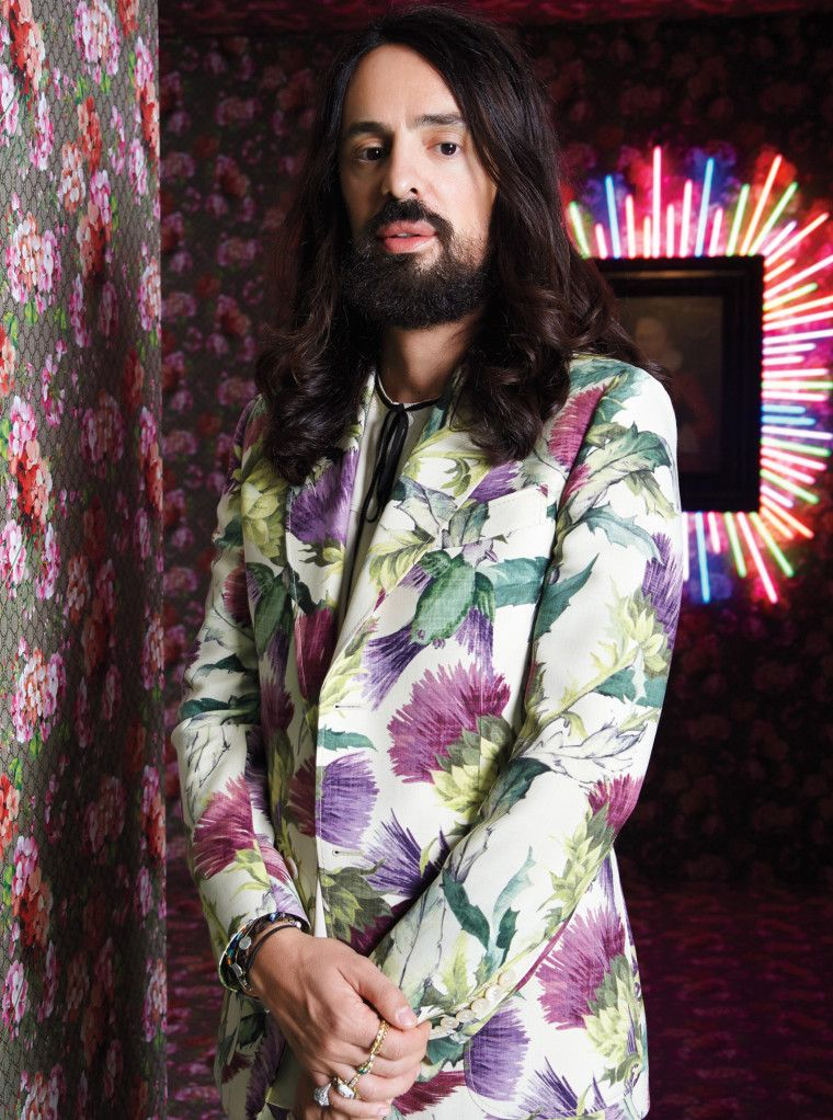 881dc7d61 Alessandro Michele's vision for Gucci is more eclectic magpie than sexed-up  glamazon. Following him to China for a museum exhibition, David Amsden  tracks ...