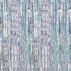 Holographic Silver Iridescent Curtains