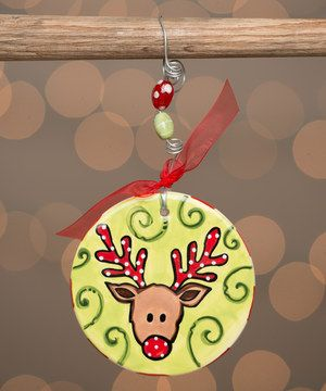 Another great find on #zulily! Reindeer Swirl Ornament by Glory Haus #zulilyfinds