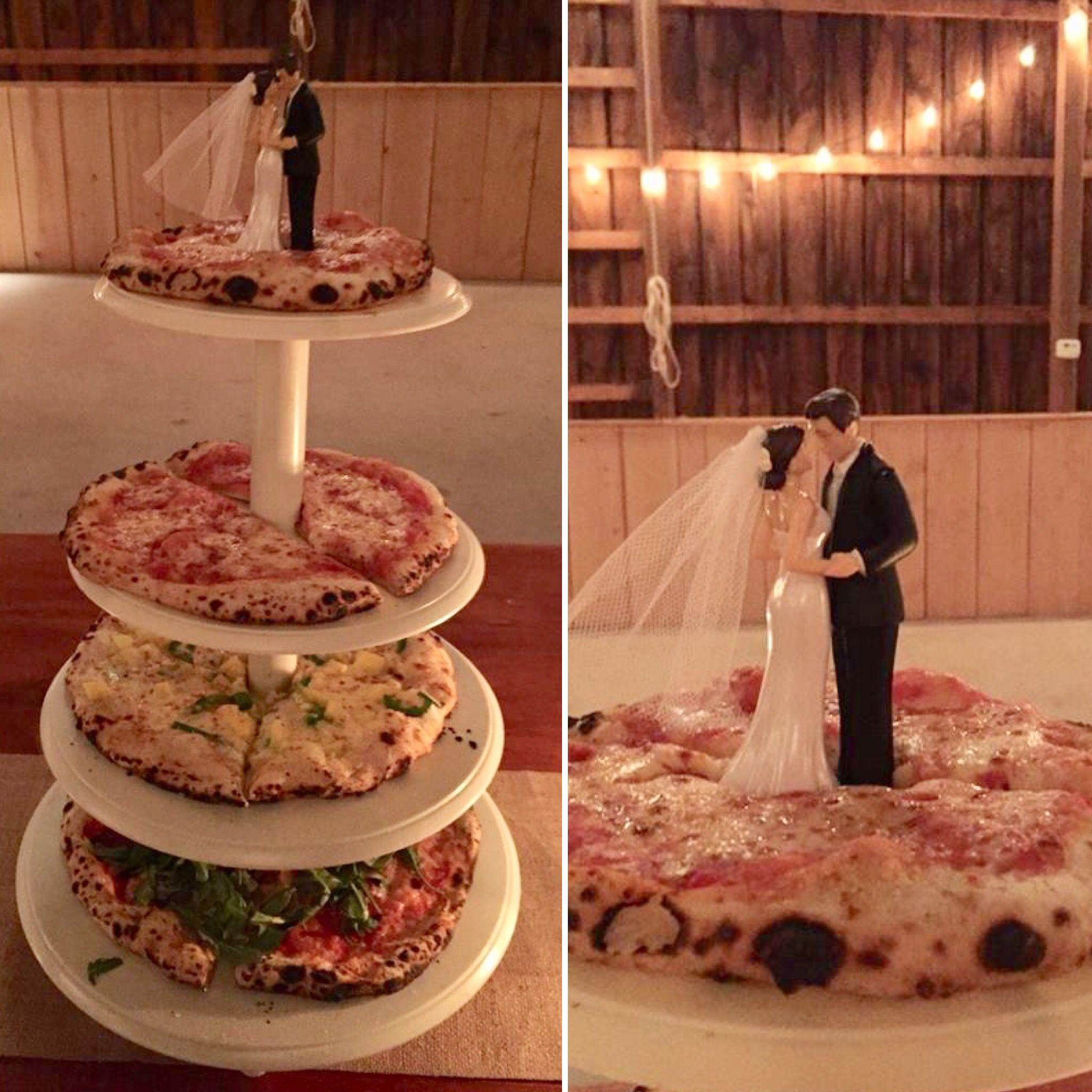 Wedding Pizza Pizza Cake Topper Pizza Topper Orapellos Pizza Outdoor Wedding Back Yard Wedding Barn Weddings Far Wedding Food Cake Toppers Yard Wedding