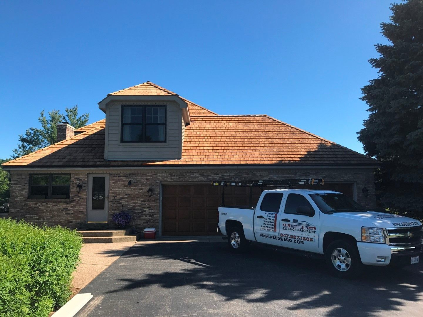 Best Pin By A B Edward Enterprises On Chicagoland S 1 Home Exteriors Company A B Edward 400 x 300