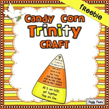 Candy Corn Trinity Bible School Crafts Candy Corn Children S