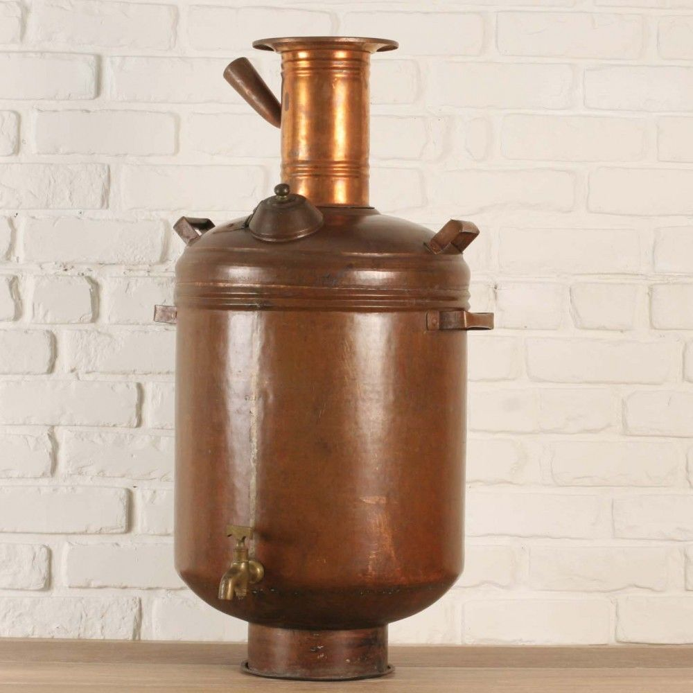 Solid Copper Hot Water Maker Samovar Southern