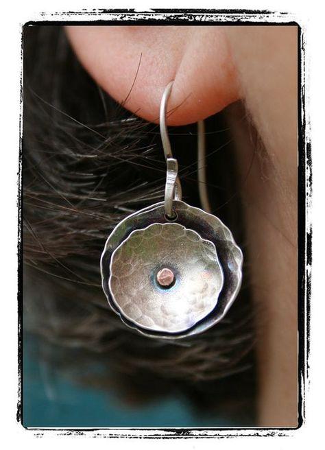 Urban Bird's Nest earrings