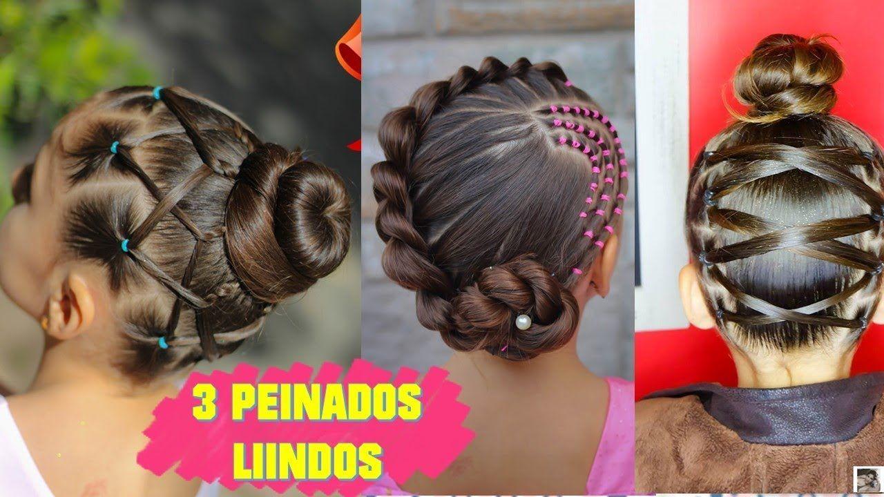 3 Peinados Faciles Elegantes Y Rapidos Para Ninas Peinados Faciles Peinados Faciles Y Rapidos Peinados Elegantes Peinados De Ninas Faciles