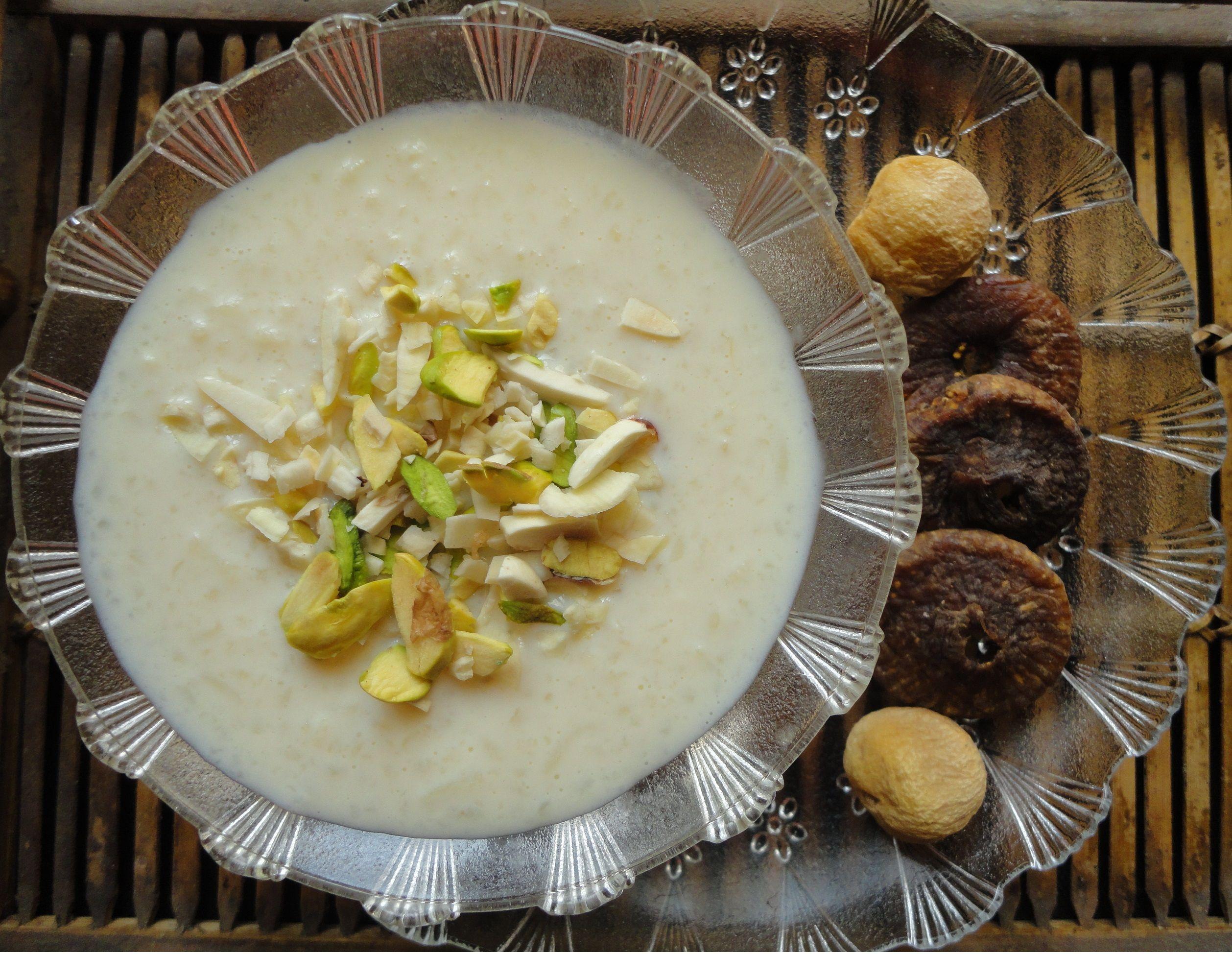 Dessert with Basmati Rice | Food, Desserts, Food recipes