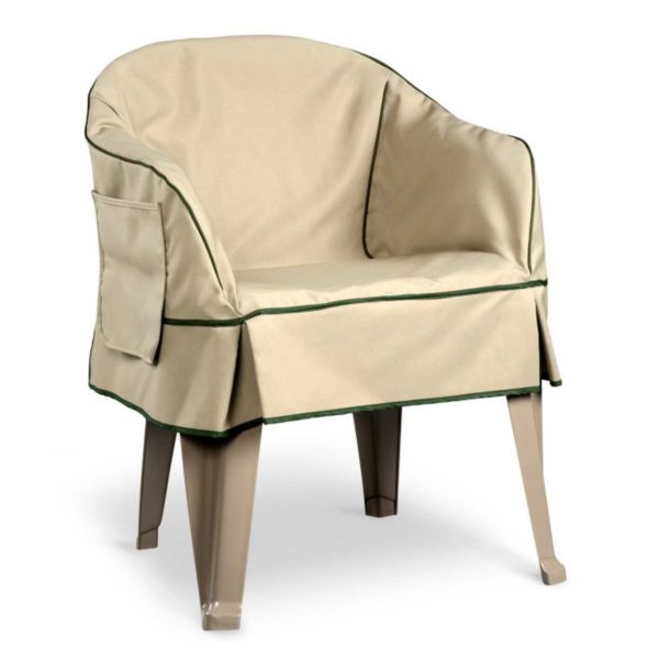 Padded Resin Chair Covers