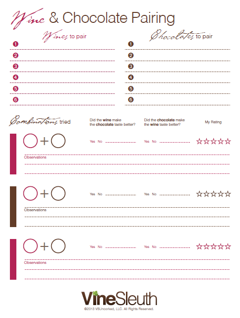 Free printable wine  amp chocolate pairing chart http vinesleuth also pin by freebies mom on pinterest and rh