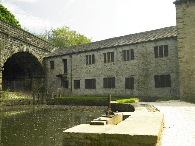 Helmshore mill pond